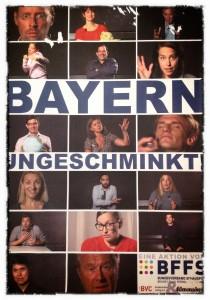 Bayern Ungeschminkt plakat